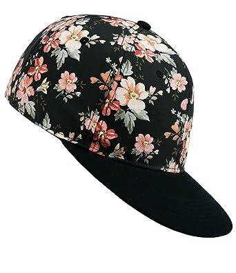 EveryHead Ladies Snapback Cappello Da Baseball Regolabile Cappellino Flat-Cap  Visiera Basecap Berretto Con Per 81b7c1f99cfb