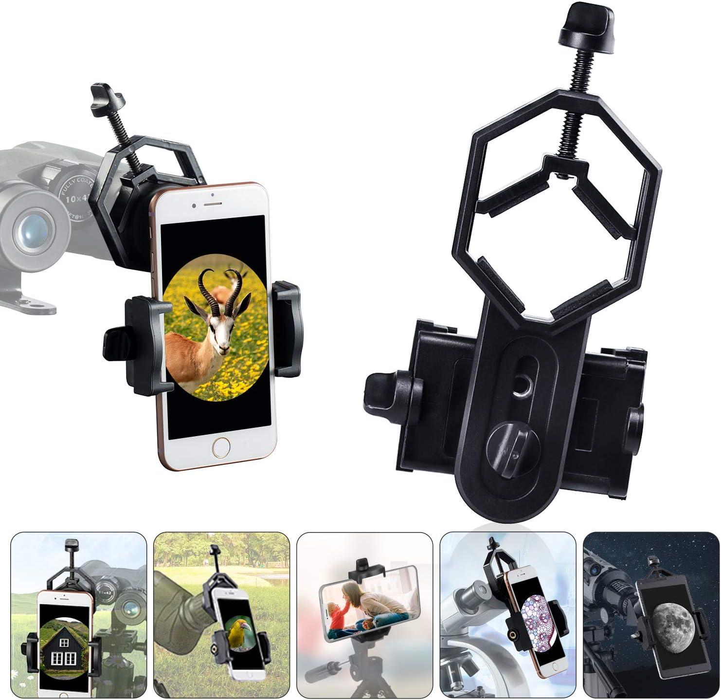 Useful Spotting Scope Telescope Mount Digital Camera Mobile Phone Adapter YNFK