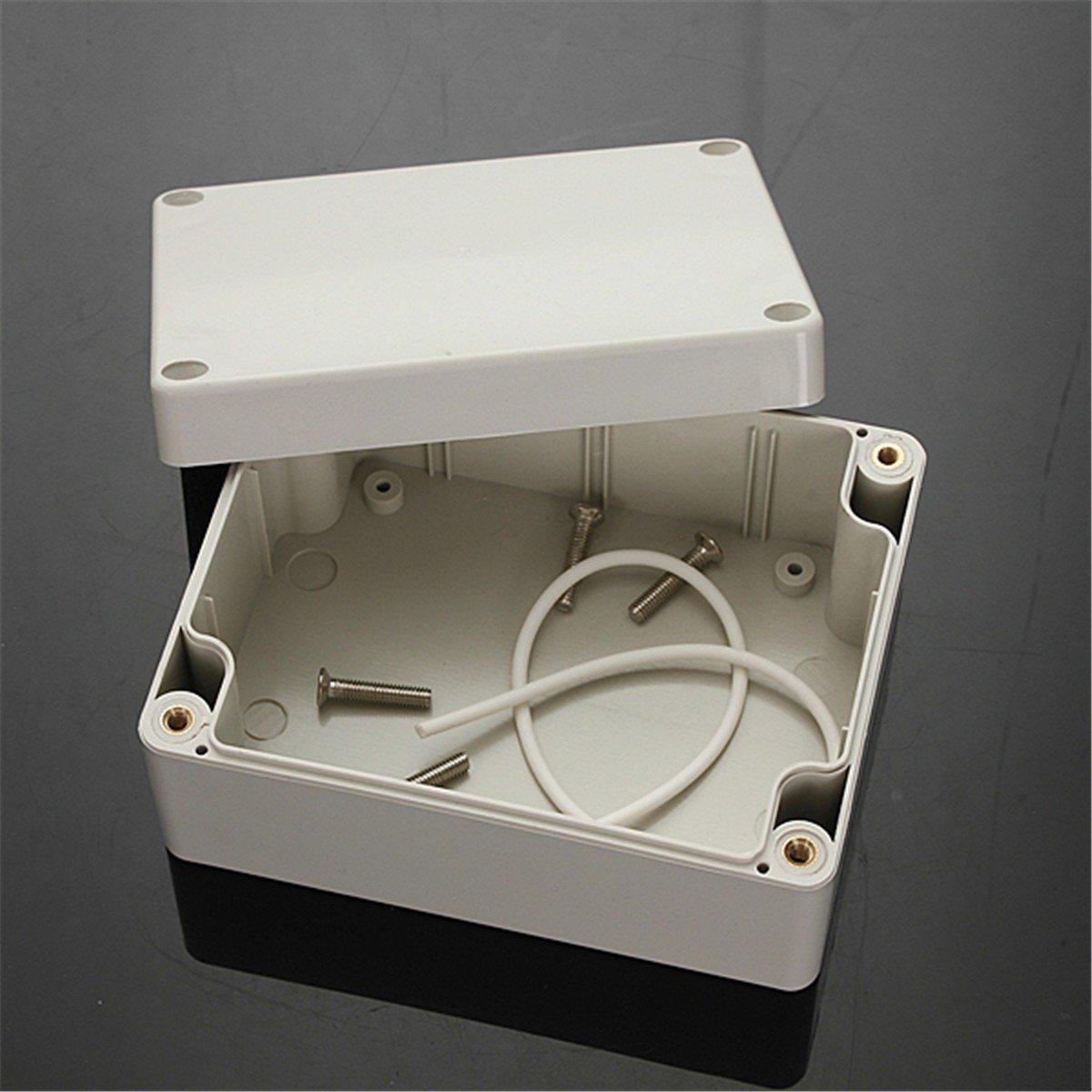 XXXL 200x120x75mm IP65 Wasserdichte Anschlussdosen Kunststoffgeh/äuse Verdrahtung Anschluss DIY Fall Power Abzweigdose