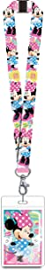 Disney 85929 Minnie Mouse Pink Lanyard Novelty and Amusement Toys, Multi-Colored, 3""