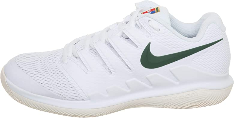 Nike Wmns Air Zoom Vapor X HC, Zapatillas de Deporte para Mujer, Multicolor (White/Gorge Green/Light Cream 100), 44 EU: Amazon.es: Zapatos y complementos