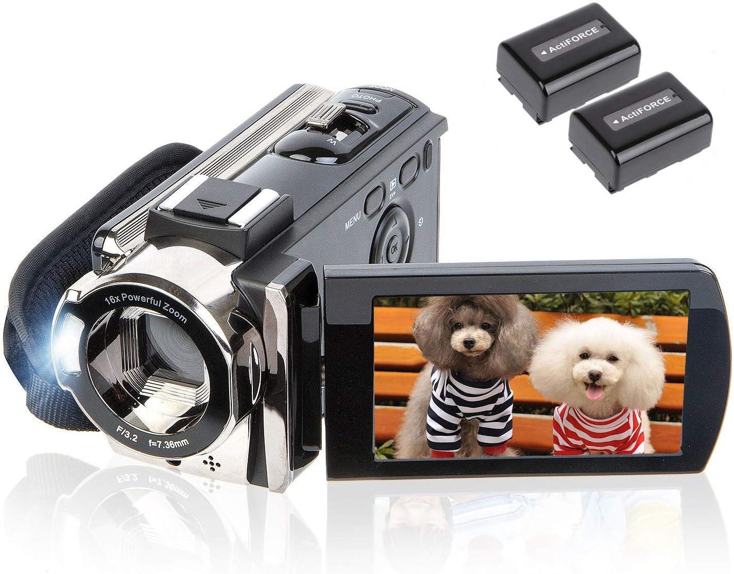 Kicteck Digital Camera Camcorder