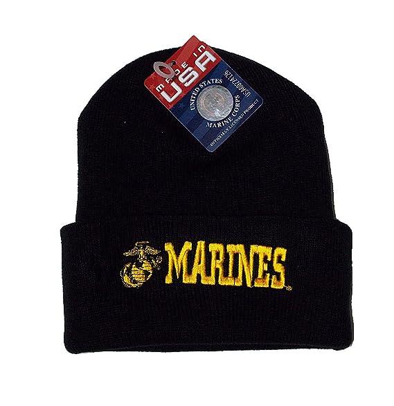 Amazon.com  PPM Brands USMC Made In The USA Black Marines Marine ... 440978a9f1a