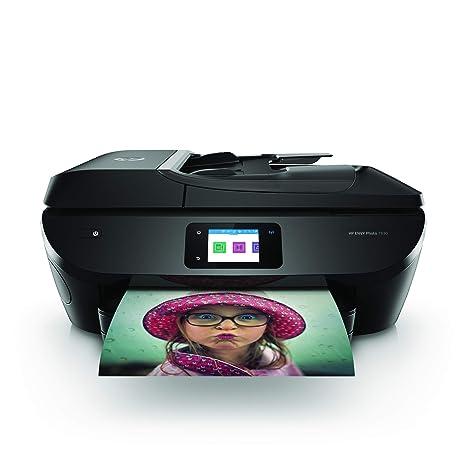 HP Envy Photo 7830 – Impresora multifunción inalámbrica (tinta, Wi-Fi, copiar, escanear, alimentador automático de documentos, 1200 x 1200 ppp), color ...