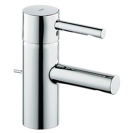 Essence New Single Handle Single Hole Low Arc Bathroom Faucet