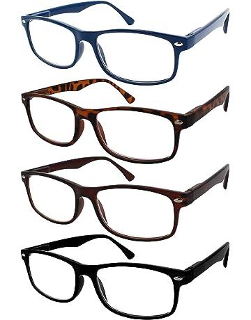 TBOC Gafas de Lectura Presbicia Vista Cansada - (Pack 4 Unidades) Graduadas  +2.50 8c9d7a1bd1fb