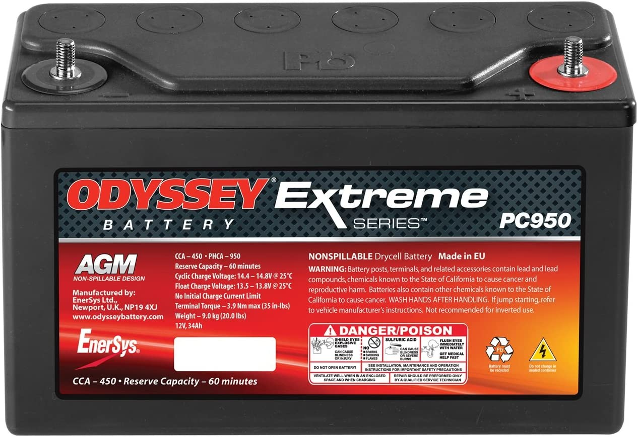 PC950 Odyssey Battery PC950 Extreme Racing Battery