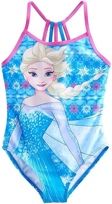Disney Frozen 2 piece Anna /& Elsa Swimsuit Girl Youth size 6 6x