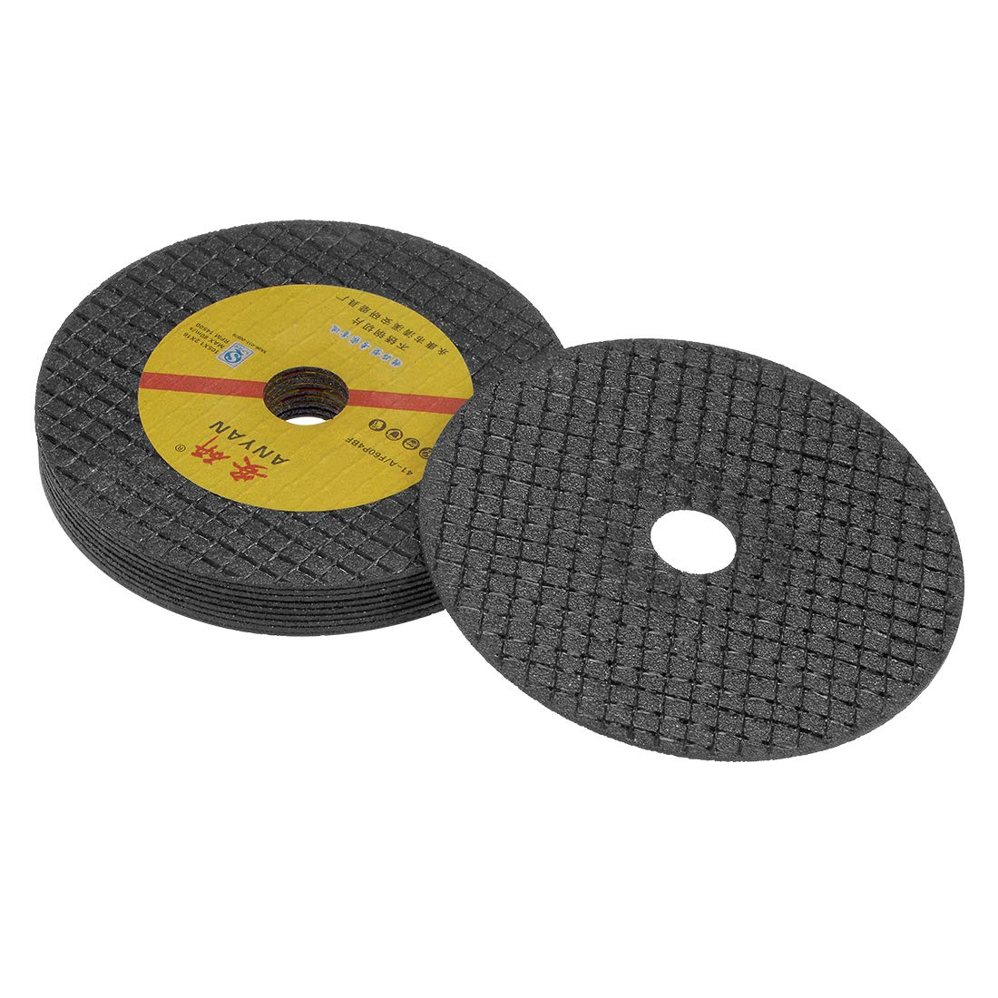 uxcell/® 4 Inch Cut-Off Wheels Cutting Discs for Metal and Stainless Steel Black 20 Pcs