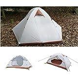 Luxe Tempo テント 2人用 4シーズンに適用 アウトドア キャンプ用品 軽量 二重扉 防水 マットを送ります