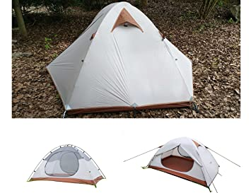 Luxe Tempo 2 Person Ultralight Tents for C&ing 3.8LB with Footprint High-end Silnylon  sc 1 st  Amazon.com & Amazon.com : Luxe Tempo 2 Person Ultralight Tents for Camping 3.8 ...