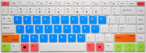 Leze - Ultra Thin Keyboard Cover for HP ProBook 430 G5, ProBook 440 G5 Laptop - White Blue