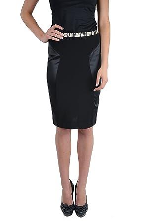 8d88d31060 Amazon.com: Just Cavalli Women's Stretch Straight Pencil Skirt US 2 ...