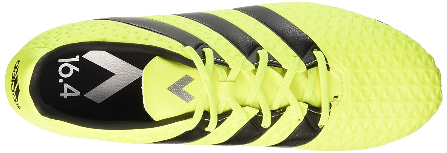 quality design 750f6 eb6b2 Adidas Mens Ace 16.4 FxG Syello, Cblack and Silvmt Football Boots - 11  UKIndia (46 EU) Buy Online at Low Prices in India - Amazon.in
