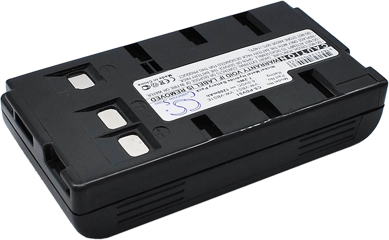 Replacement Battery for PANASONIC PV-IQ306 PV-IQ325 PV-IQ403 PV-IQ404 PV-IQ404A PV-IQ405 PV-IQ503 PV-IQ504 PV-IQ505 PV-IQ525 PV-L352 PV-L353 PV-L552 PV-L557