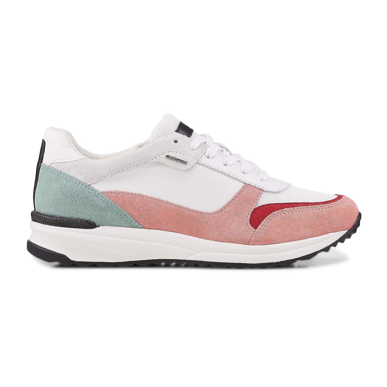blanco (blanco Coral C1200) Geox D Airell C, Hauszapatos para mujer, blanco (blanco Coral C1200), 40 EU