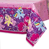 "My Little Pony Plastic Tablecloth, 84"" x 54"""