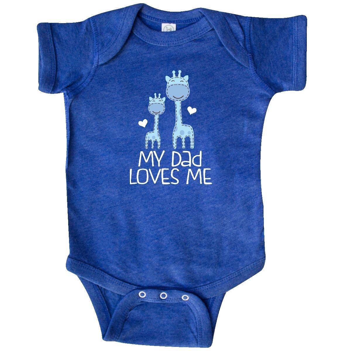 a3ee60499 Amazon.com  inktastic - Dad Loves Me Infant Creeper Newborn Retro ...