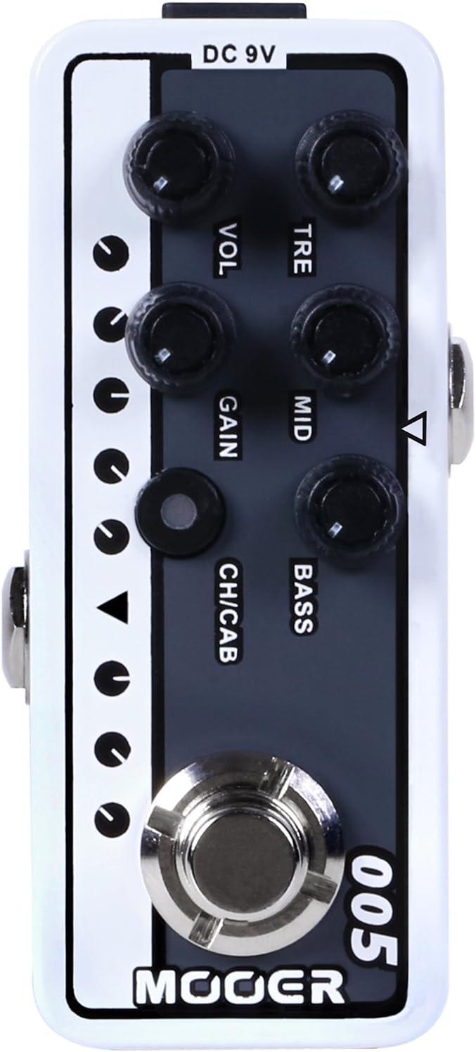 Mooer Brown Sound 3 - Pedal de efectos para guitarra