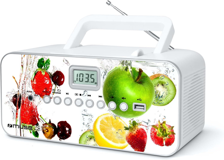 Muse M 28 Vf Cd Radio Tragbar Pll Ukw Radio Mw Tuner Senderspeicher Usb Mp3 Wiedergabe Netz Oder Batteriebetrieb Vf Audio Hifi