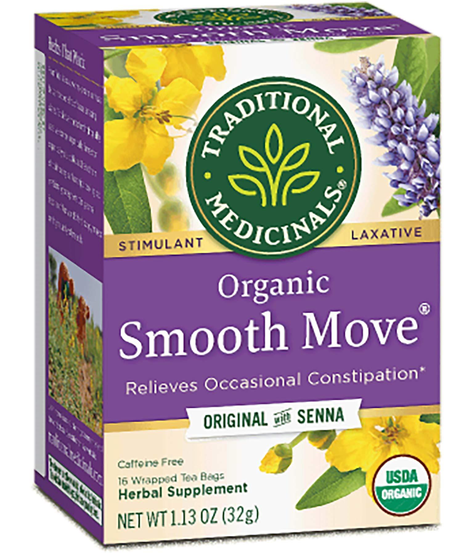 CDM product Traditional Medicinal's Smooth Move Herb Tea(6x16 bag) (Pack - 6) big image