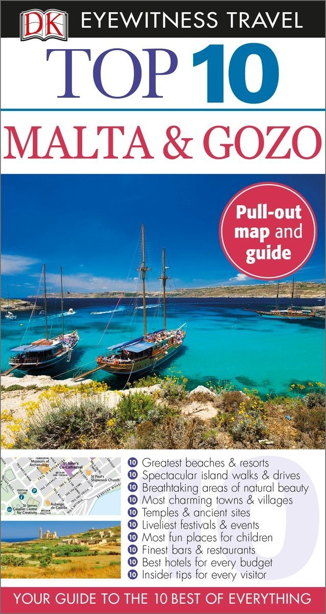 Top 10 Malta and Gozo (Eyewitness Top 10 Travel Guide) Paperback – July 7, 2015 Draughtsman Ltd Lucia Mizzi DK Eyewitness Travel 1465429212