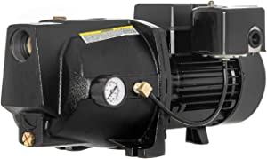 RainBro 1/2 HP Cast Iron Shallow well jet pump for wells up to 25 ft, shallow well water pump, Model# CSW050