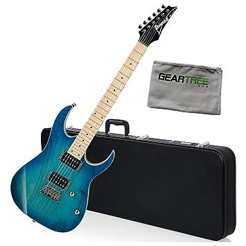 Ibanez rg421ahmbmt RG estándar guitarra eléctrica (azul luna ...