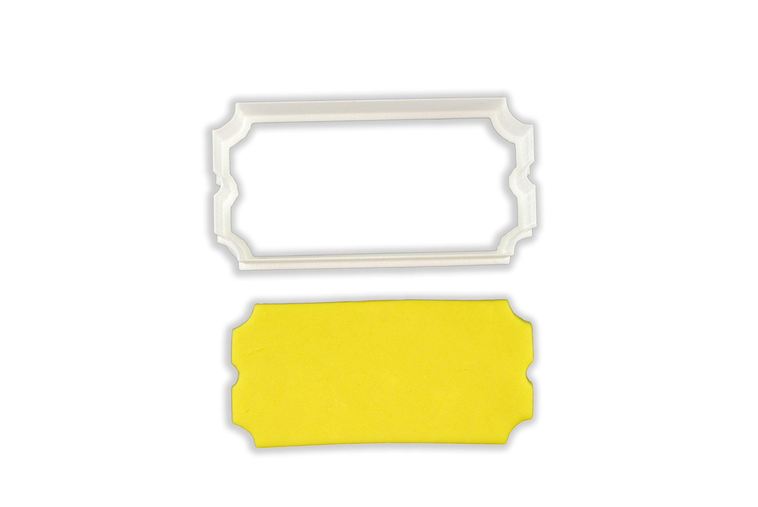 Movie Ticket Cookie Cutter - LARGE - 4 Inches