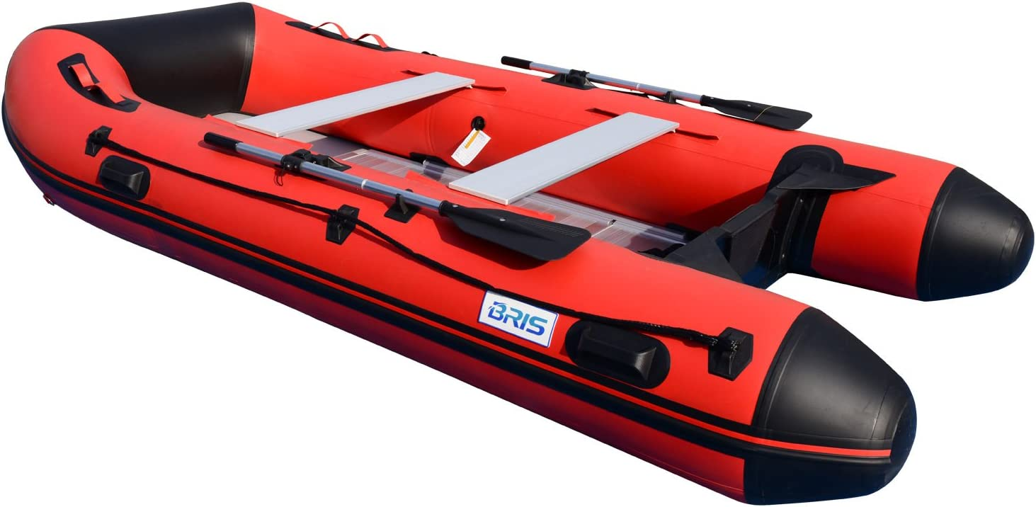 Amazon.com: Bris 12 ft Inflatable Boat – Barca inflable ...