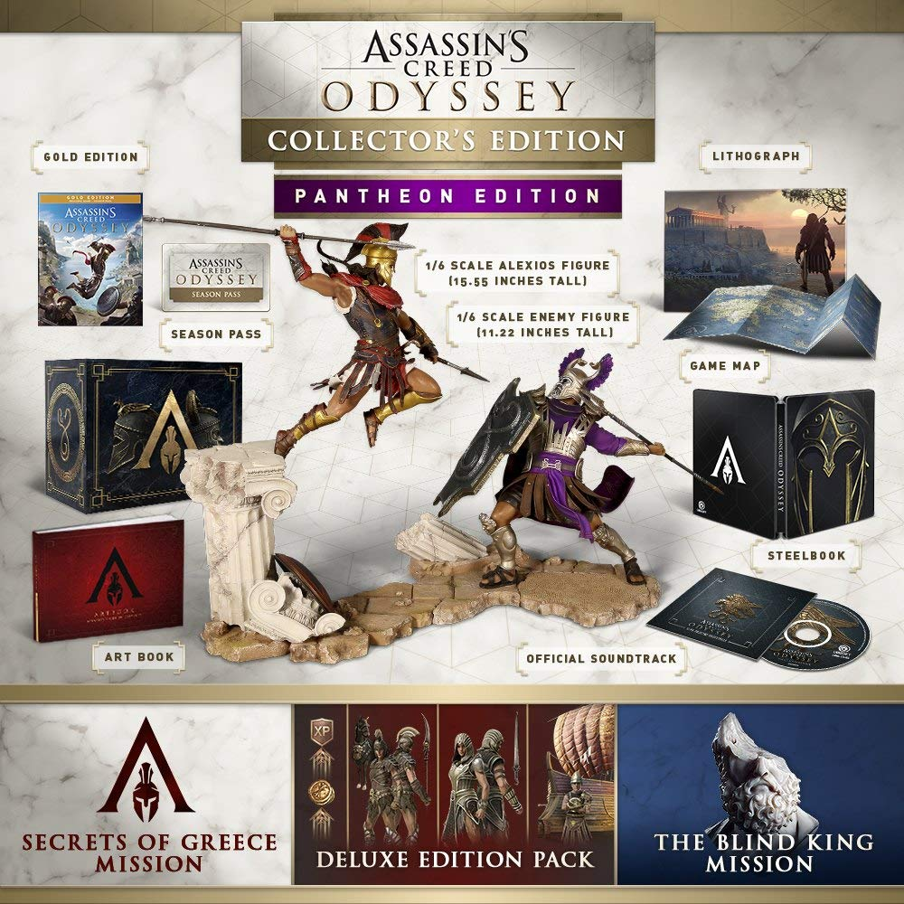 Assassin's Creed Odyssey - PANTHEON EDITION: Amazon co uk: PC