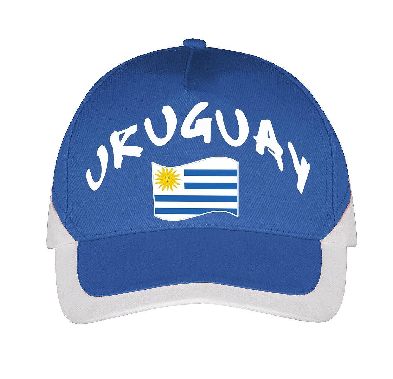Bleu Supportershop Casquette Uruguay Football FR Unique Taille Fabricant : TU