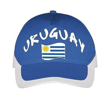 Supportershop – Gorra Uruguay fútbol, Azul, FR: Talla Unique (Talla Fabricante: