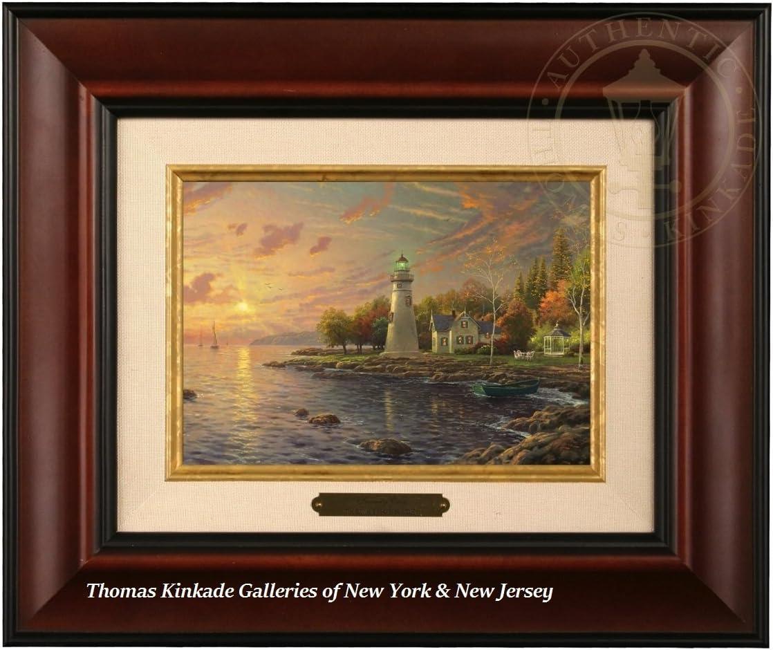 Thomas Kinkade Serenity Cove Brushwork Burl Frame