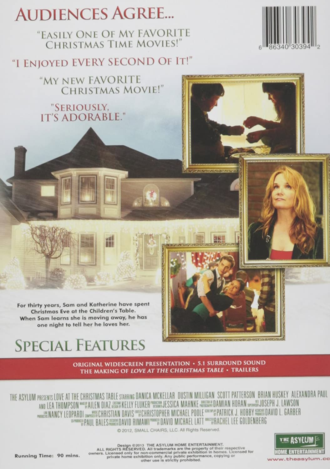 Amazon Com Love At The Christmas Table Movies Tv