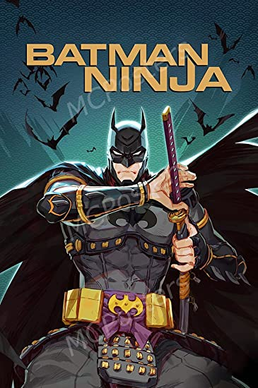Amazon.com: PremiumPrints - DC Batman Ninja Movie Poster ...