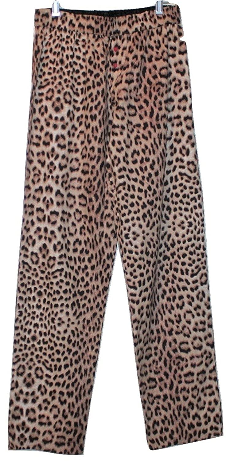 99d473cd20 Betsey Johnson Leopard Print Flannel Pajama Lounge Pants (S) at ...