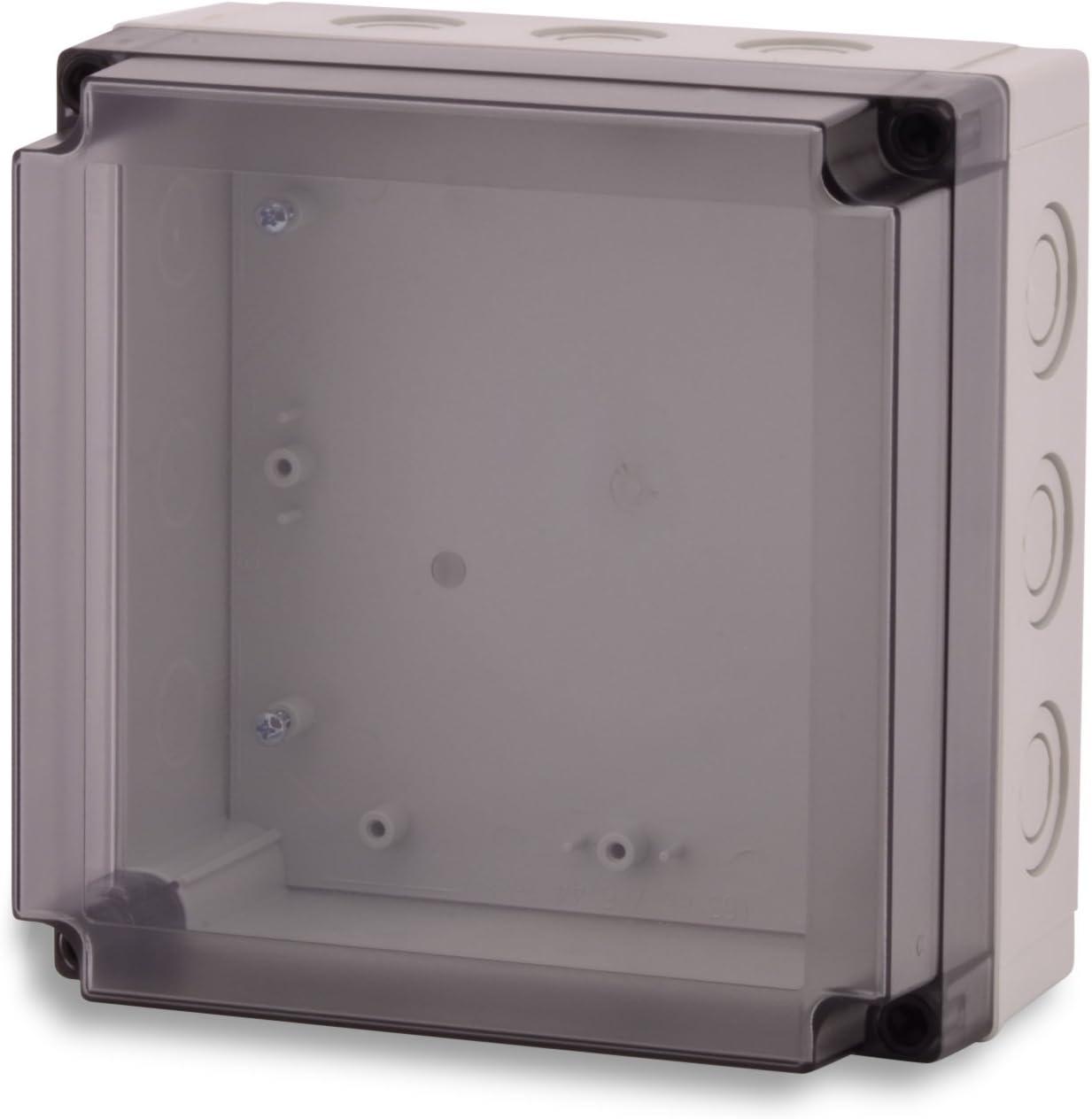 BOXEXPERT Kunststoff-Geh/äuse Industriegeh/äuse Serie Michel 130x 130x 100mm IP 67 grau RAL7035 Schaltschrank Verteilerkasten