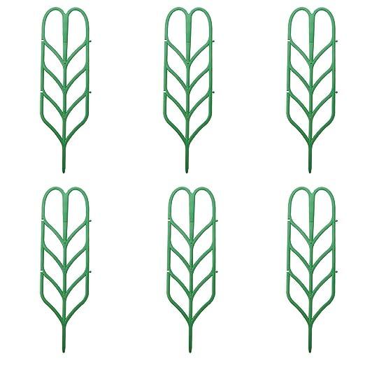 Gosear Paquete de 6 Enrejados de Jardín Para Mini Plantas ...