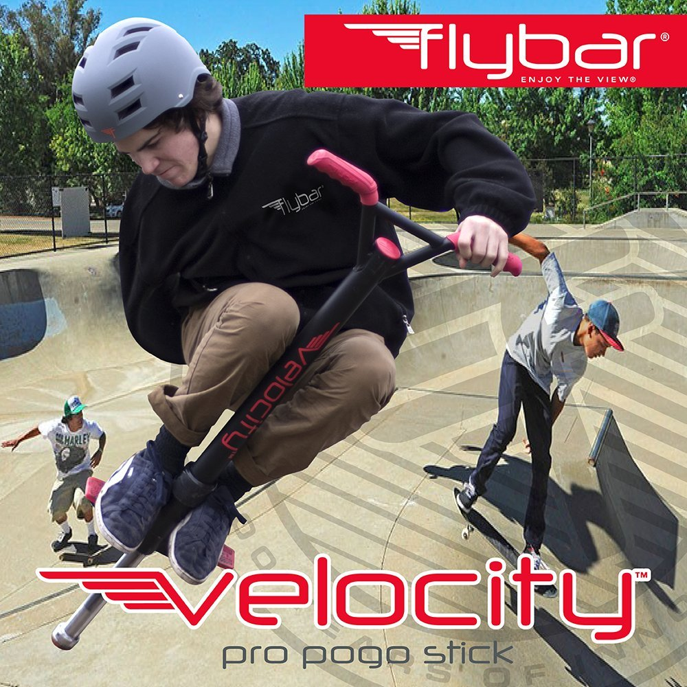 Flybar Velocity Pro Pogo Stick (Red, Large) by Flybar (Image #2)