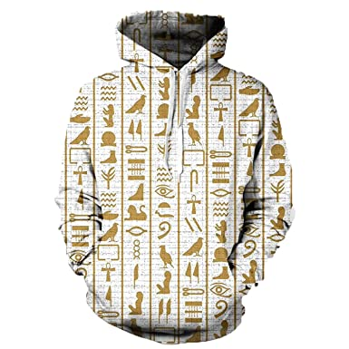 nayingying 3D Capucha Hombres Mujeres Marca Ropa Casual Chándal Tallas Grandes Jersey Sudadera Hoodies Hoodies S
