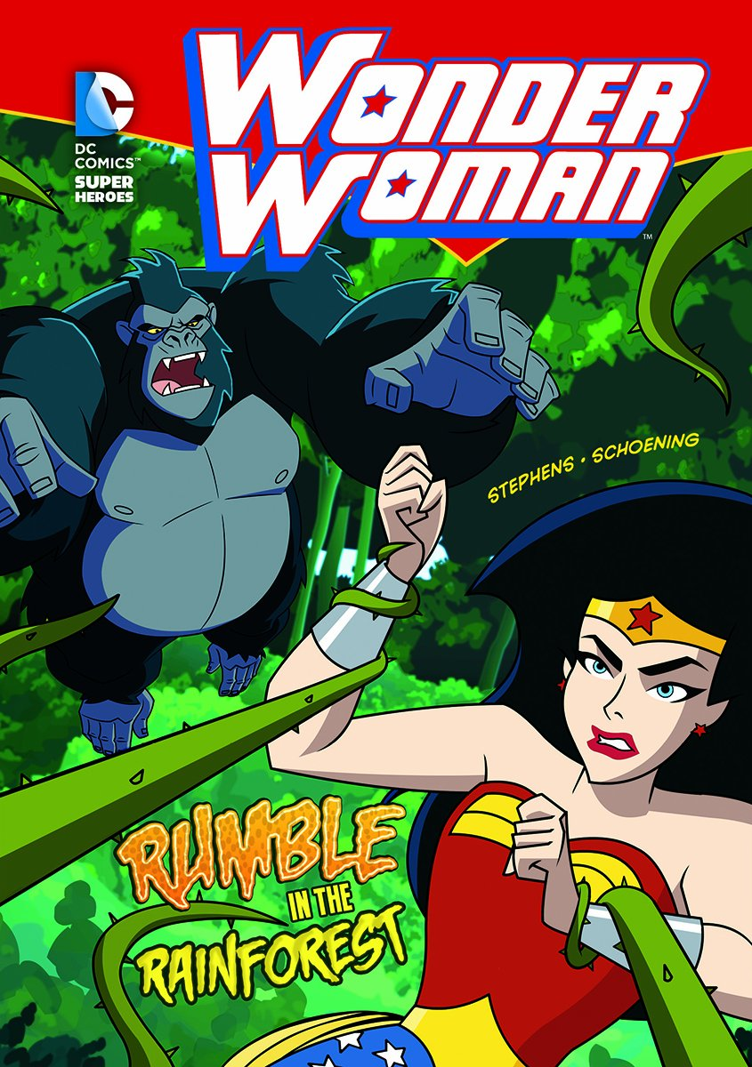 Rumble in the Rainforest (Wonder Woman) pdf epub