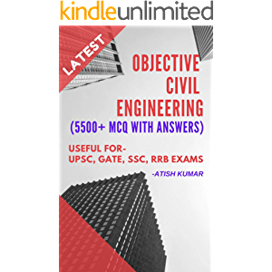 Objective Civil Engineering Book: Get 5500+ MCQ with Answers for Preparing All Competitive Exams & Interviews
