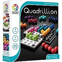 SmartGames Quadrillion SG540 Quadrillion Magnetic Puzzle Game, 17 Pieces