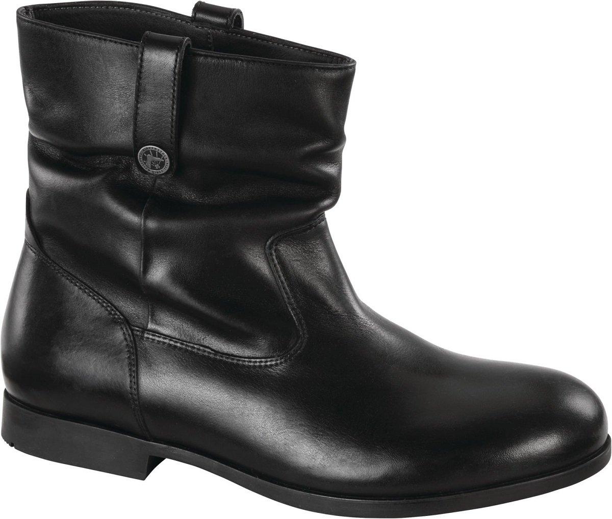 Birkenstock Women's Sarnia Waxed Suede Boot B01MZ838NI 37 M EU Black Leather