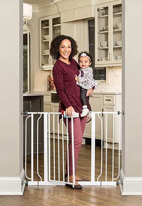Buy Regalo Easy Step Extra Wide Baby Safety Gate White Online At