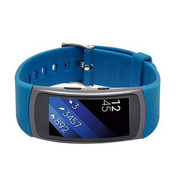 Amazon.com: Compatible with Samsung Gear Fit2 Band,Wishta ...