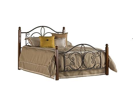 Hillsdale Furniture Hillsdale Milwaukee Post Full bed set, Textured Black