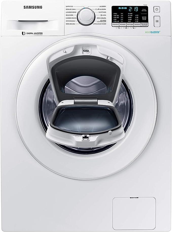 Samsung - Lavadora AddWash™ Serie 5 9kg WW90K5410WW ...