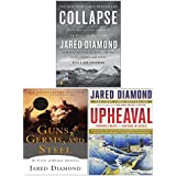 Jared Diamond 3 Books Collection Set(Upheaval, Collapse Guns, Germs and Steel)
